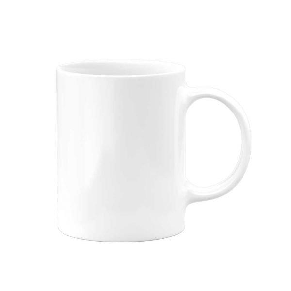 White Custom Ceramic Coffee Mug 11oz 36 Case Pixel